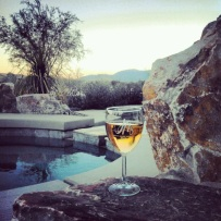 Poolside in Palm Desert, CA. Shared by Micaela Ohlson