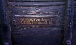 "Velie Carriage Company of Moline called the ""Wrought Iron Line"" of vehicles."