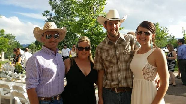 Pictured left to right: Joseph R. Burtard, Amand Froman, Andy Lashinski and Amy Rager